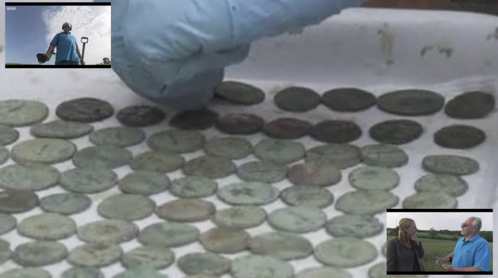 Dave Crisp uncovers Roman hoard