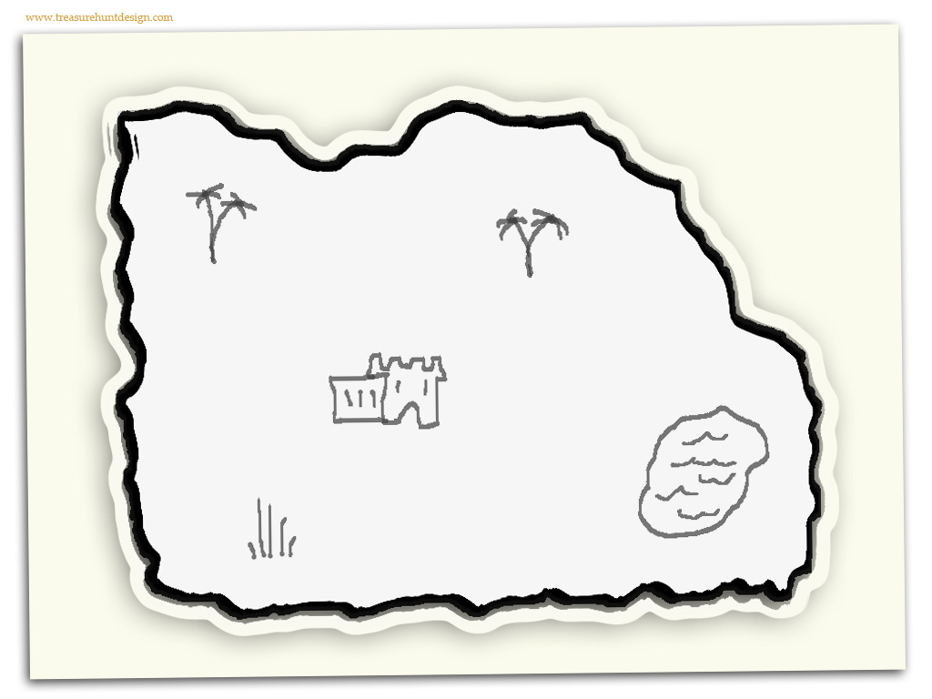 How To Make A Treasure Map Treasure Hunt Design