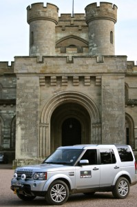 Treasure Hunt at Eastnor Castle incorporating the Land Rover Experience