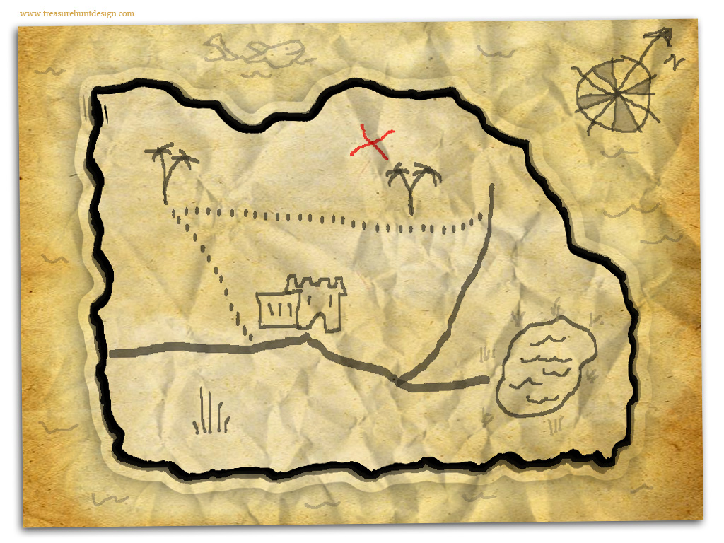 Treasure hunt maps treasure hunt design how to make a treasure map 9 maxwellsz