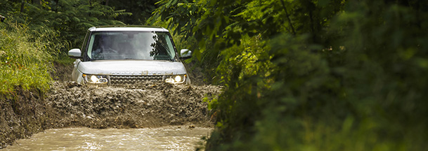 Land Rover Experience treasure hunt