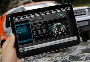 Land Rover Experience: Explore the Limits app